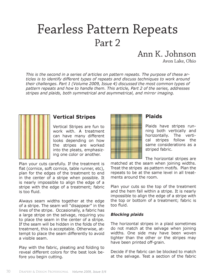 articles regarding fearlessness